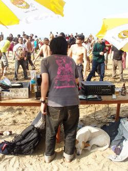 DJ Jun @ Arambol Goa 2005